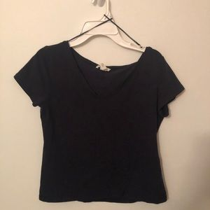 H&M navy blue short sleeved T-shirt